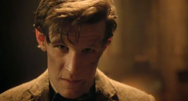 """It's a game full of humany-wumany, timey-wimey stuff. You''l love it. Is this the face of a man who lies?"""